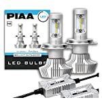 PIAA正規品です。取扱説明書は商品画像のQRコードからご確認ください。 仕様: 12V 20W、H4タイプ、6000K、3000lm(lo)/4000lm(Hi)*バルブ2個分値 高応答点灯設計により、ハイレスポンスパッシングを実現と鮮明なカットライン。4000lm(ルーメン)のクリアな光を照射。 色温度: 6000K(ケルビン)/純正より視認性の高い美しく大胆な蒼白色 2年保証 車検対応品