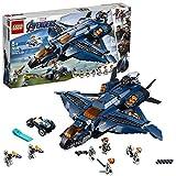 LEGO Marvel Super Heroes Le Quinjet des Avengers Jeu de construction, 8 Ans et...