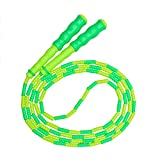 Springseil,weiches Perlen-Springseil,Fitness Springseil für Kinder,Männer und Frauen,verstellbares und...