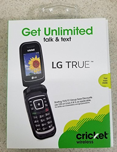 LG B460 'True' Flip Cell Phone (cricket) No Contract