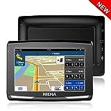 GPS Voiture Auto, Hieha 5 Pouce GPS Navigateur Automatique 8GB, Appareil de...