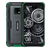 Blackview® BV4900(2021) Smartphone Incassable 4G(5580mAh, 3Go+32Go/SD-128Go, Écran 5.7'HD+ Dual SIM 4G, 8MP+5MP) Android 10 Telephone Incassable, Étanche/Antichoc/NFC/Face ID/OTG/GPS/2Ans de Garantie