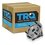 TRQ Front Wheel Hub Bearing Assembly Driver Passenger for Tacoma 4Runner FJ 4WD