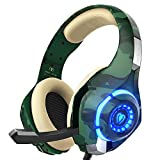 PS4 Gaming Headset with mic, Beexcellent Xbox One Headset with Stereo Sound Noise Isolation Memory...