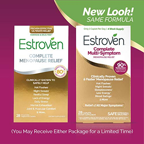 Estroven Complete Menopause Relief | All-In-One Menopause Relief* | Safe and Effective | Reduce Multiple Menopause Symptoms*1 | Reduces Hot Flashes and Night Sweats* | One Per Day | 28 Count 8