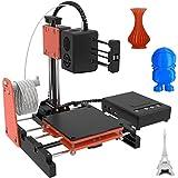 3D Printer, Kacsoo 3D Printer Machine, Mini Desktop 3D Printer for Beginners Kids Teens, DIY 3D Printer Kits with TF Card, Card Reader, White Filament, Printing Size 4'×4'×4'