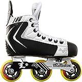Alkali Hockey Lite Youth Adjustable Inline Roller Skates Size 7-10