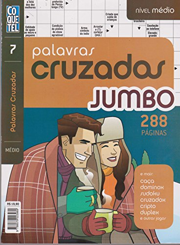 Jumbo Crossword Cocktail - Book 7. Medium Level
