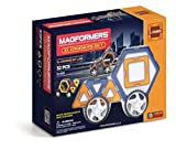 Magformers XL Cruisers Set (32-pieces) Magnetic Building Blocks, Educational Magnetic Tiles Kit , Magnetic Construction STEM Toy Set includes wheels (Toy)