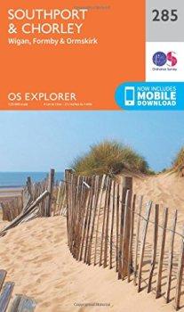 OS Explorer Map (285) Southport and Chorley (OS Explorer Paper Map)