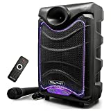 Dolphin SP-850RBT Portable Bluetooth Party Speakers with Lights and...