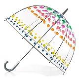 totes Clear Bubble Umbrella, Dots