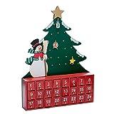 Kurt Adler Wooden Snowman with Tree Advent Calendar (Misc.)
