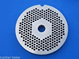 Smokehouse Chef size #22 x 1/8 (3 mm) holes Meat Grinder Plate Disc fits Hobart 8422 4322 4622 4822 100% Stainless Steel