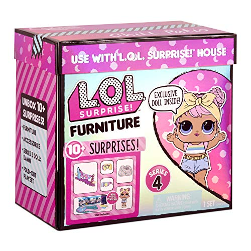 Image 6 - LOL Surprise Furniture - Poupée Dawn & + de 10 Surprises, meubles & accessoires – Mini set de jeu à ouvrir - Compatible avec La maison OMG série 4 - Poupées à collectionner pour filles de 3 ans et +