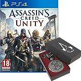 Inclus : Le jeu Assassin's Creed : Unity La montre à gousset d'Arno Contenu digital : Mission additionnelle La Révolution Chimique Le pistolet de parade - bonus envoyé par mail au moment de l'envoi de votre commande
