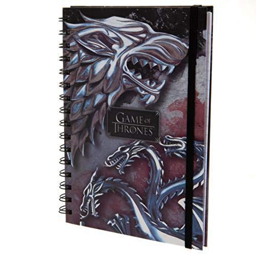 """Juego de Tronos SR72503 A5""""Stark and Targaryen"""" Wiro Notebook"""