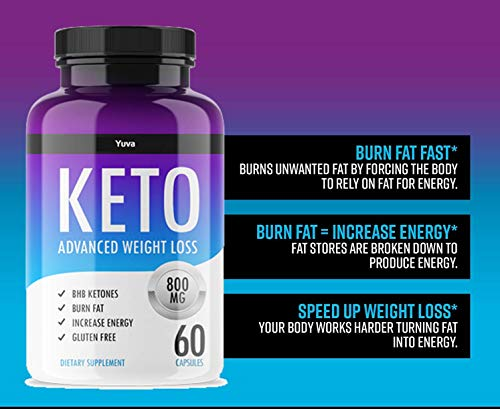 QFL Yuva Keto Diet Pills - Utilize Fat for Energy with Ketosis - Boost Energy & Focus, Manage Cravings, Support Metabolism - Keto BHB Supplement for Women and Men - 90 Day Supply 8