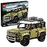 LEGO - Technic Land Rover Defender, Set di Costruzioni e Idea Regalo per Ragazzi di +11 Anni e per i Veri Appassionati di Motori, 42110