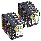 GLEGLE 29 XL Remplacer pour Epson 29XL Cartouches d'encre pour Expression Home XP-342 XP-255 XP-235 XP-435 XP-332 XP-345 XP-335 XP-245 XP-247 XP-432 XP-455...
