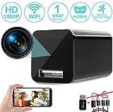 [Upgrade] Spy Camera Wireless Hidden WiFi Camera with Remote View,Hidden Spy Camera 1080P HD Nanny...