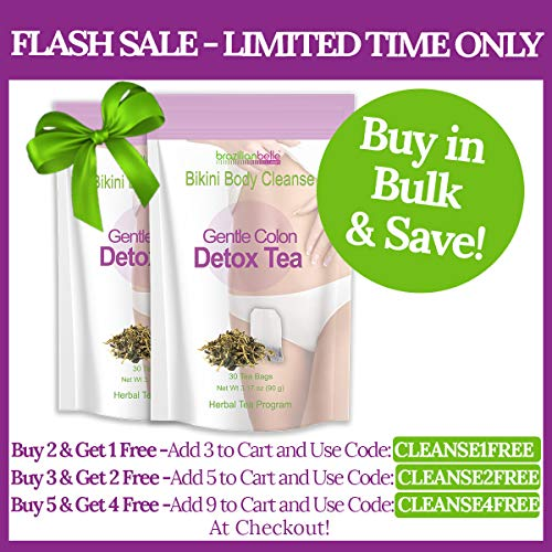Bikini Body Colon Cleanse Tea- Best Nighttime Detox Tea on Amazon - Improves Digestion, Manages Weight, Reduce Bloating and Constipation 5
