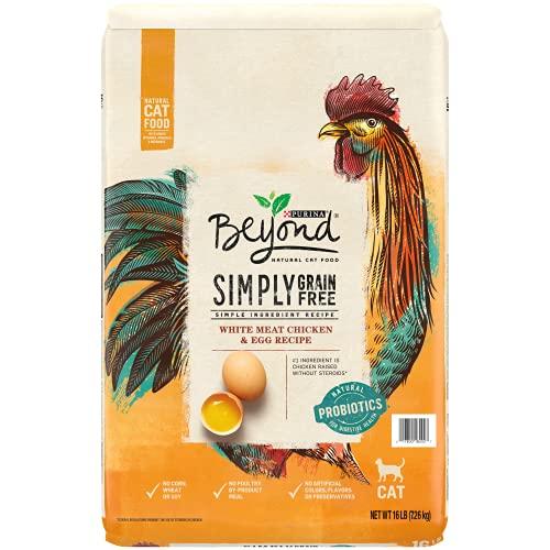 Purina Beyond Grain Free, Natural Dry Cat Food, Grain Free White Meat Chicken & Egg Recipe - 16 lb. Bag