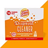 Lemi Shine Garbage Disposal Cleaner and Deodorizer - Kitchen Garbage Disposal Cleaner with a Natural Fresh Lemon Scent (16 Total) (Packaging may vary)