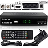 Strom 506 - TNT HD Decodeur TNT HD Pour TV / Recepteur TNT HD / Adaptateur TNT...