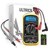ULTRICS Multimètre Numérique LCD, Haute Qualité Voltmètre Ampèremètre...