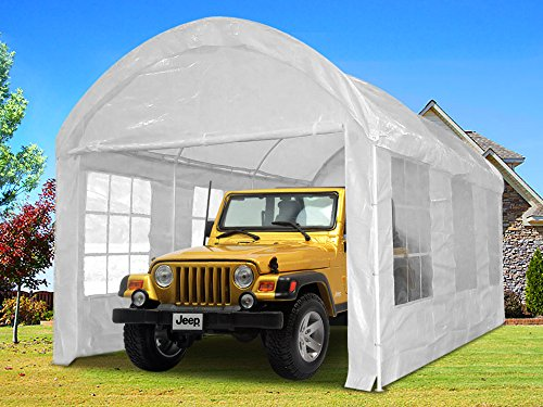 Quictent 20x10 Heavy Duty Portable Carport Canopy Garage Car...