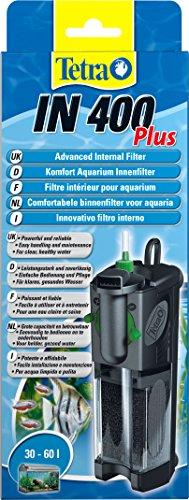 Tetra IN 400 plus Aquarium Innenfilter - Filter für klares und gesundes Wasser, mechanische, biologische und chemische Filterung, geeignet für Aquarien mit 30 bis 60 Liter