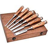 Wood Chisel Tool Sets, 6 Pieces...
