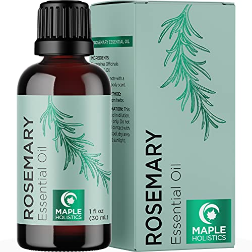 Pure Rosemary Essential Oil for Aromatherapy -...