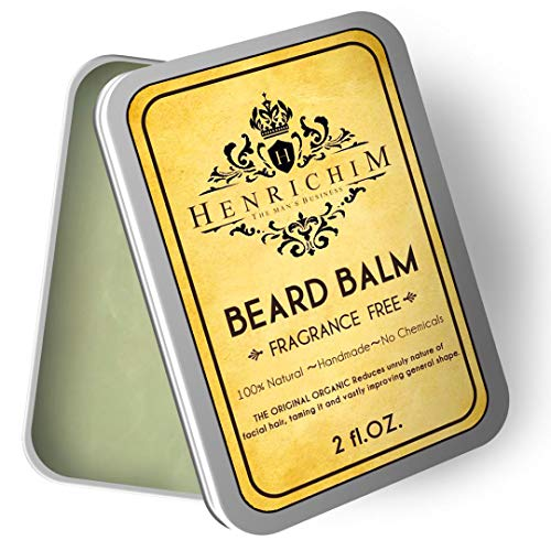 Richim Beard Balm- Made with All Natural and...