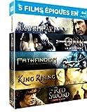 Braveheart, Conan Le Barbare, Pathfinder, King Rising, The Red Sword [Blu-ray]