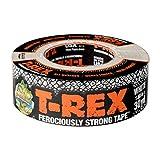T Rex Klebeband, äußerst stark und wasserfest, weiß, 48 mm x 27 m Ein hochfestes Gaffer-Klebeband, das auch UV-beständig ist, von den Herstellern des Original-Duck-Tape-Klebebandes.