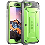 SupCase Unicorn Beetle Pro Series Case Designed for iPhone SE 2nd generation/iPhone 8 /iPhone 7, Full-body Rugged Holster Case with Built-in Screen Protector for Apple iPhone SE (2020 Release) (Green)