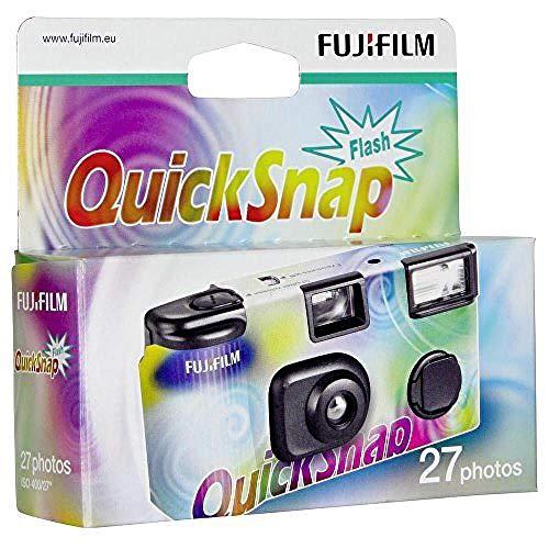 Fujifilm QuickSnap Fotocamera Usa e Getta con Flash