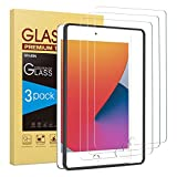 SPARIN (3 Pack) Screen Protector for iPad 8th 7th Generation, Tempered Glass for iPad 10.2 2020 2019...