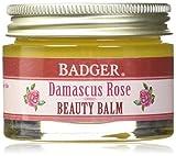 Badger Damascus Rose Beauty Balm - 1 oz Glass Jar