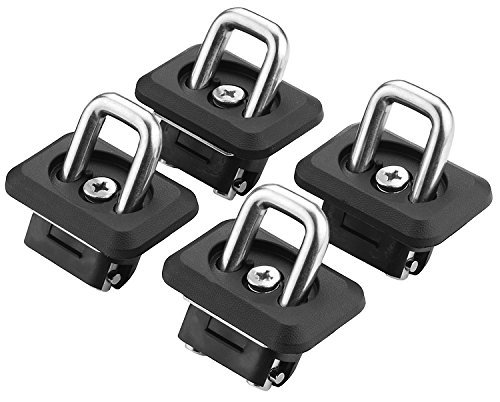 BullRing'Bullet' Inner Bed Retractable Truck Tie-Down Anchors (2 Pair) | '07-21 Chevy Silverado and GMC Sierra | '15-21 Chevy Colorado and GMC Canyon |
