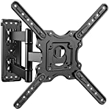 PERLESMITH Heavy Duty TV Wall Mount for Most 32-55 Inch Flat Curved TVs with Swivels Tilts & Extends...