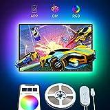 Govee Ruban LED TV 2M RGB USB avec APP, Bande Lumineuse 5050...