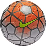 Nike Club Team Soccer Ball (Orange/White/Volt) (4)
