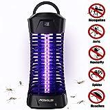 seenlast Lampe Anti Moustique Électrique, 6W UV Tueur de Moustique Anti-Insectes Répulsif Attrape Bug Zapper, Efficace Portée 35m², Non Toxique pour L'intérieur et Exterieur