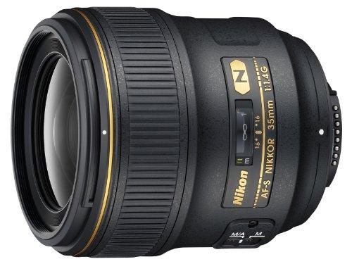 Nikon AF FX NIKKOR 35mm f/1.4G Fixed Focal Length Lens with Auto...