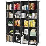 KOUSI Portable Storage Cubes-14' x14'(Load-Bearing Metal Panel) Modular Bookshelf Units,Clothes...