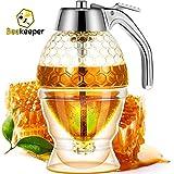 Glass Honey Dispenser-Glass Syrup Dispenser