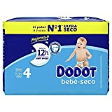 Dodot Mainline Small T. 4 40 Uds